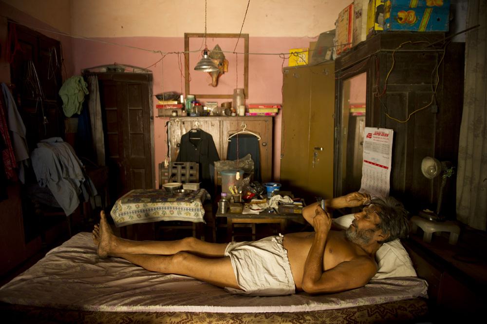 Man Old Delhi